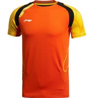 2014  New!Free shipping LI-Ning Sports Badminton Men's Shirt Tennis Clothes Shirt+shorts
