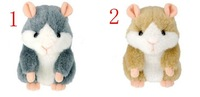 Hot Cute Speak Talking Sound Record Hamster Talking Plush Toy Animal 2KING COLORS