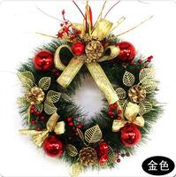 2014 New 30cm Christmas wreath wedding garland home Christmas gift decoration  free shipping