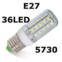 2014 NEW High Brightness LED WALL lamps 11W E27 36LEDs  Energy Efficient Corn Bulb NEW Chip 5730 SMD Ceiling lights 4pcs/lot