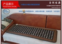 High quality heated jade massage cushion on sofa for office and household used