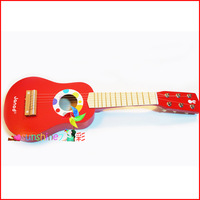 Wooden  toys child guitar musical instrument educational toys