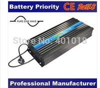 solar inverter Battery Priority, Pure Sine Wave DC 12V 24V 48V to AC 220V Solar Power Inverter 2500W