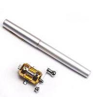 Metal Pen Fishing Rod  Mini   Fishing Rods   Portable Fishing Pole ,