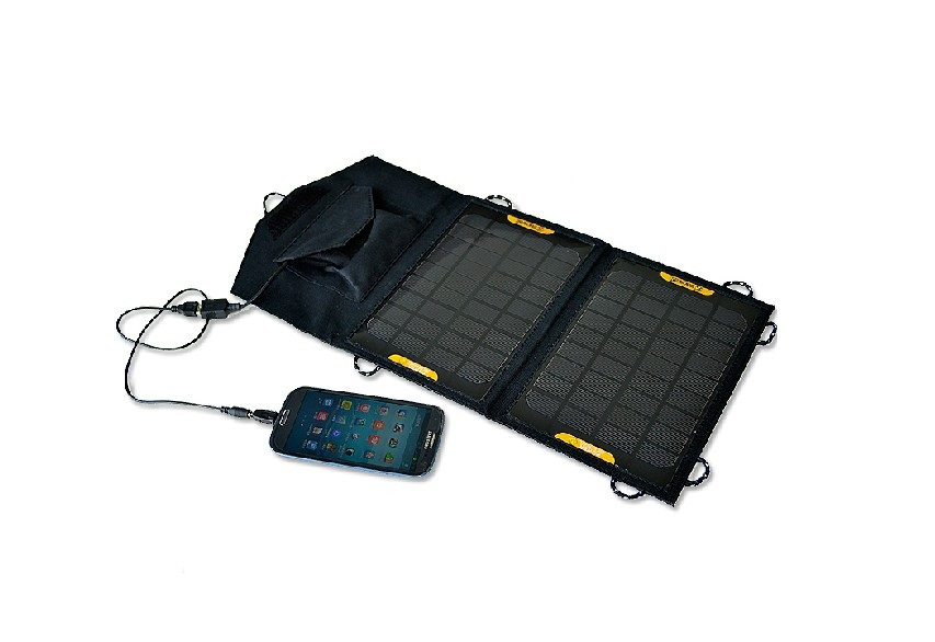 Itemship 7W portable folding solar charger mobile phone power charger backflow board 5V regulator(China (Mainland))