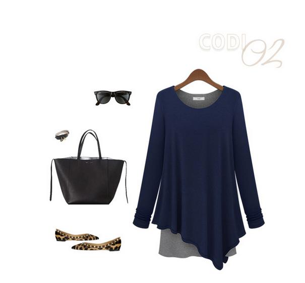 Verão 2014 da marinha de Nova Mulheres Marca shirt vintage Escultura drapeado Irragular Casual Blusa de alta qualidade Tops Para Mulheres Blusas S- XL(China (Mainland))
