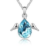 Fashion Silver Austria Crystal & Rhinestone Collar Necklace & Pendant For Women Jewelry Statement Bijouterie Accessories Gift