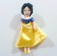 Free shipping Original Snow White Doll Plush Toys 28cm Fairy Tale Princess Doll Brinquedos Girls Dolls for Girls Gift