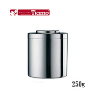 Tiamo quality stainless steel canister snacks / food / fresh pot of coffee / tea spoon send proof cans HG2802