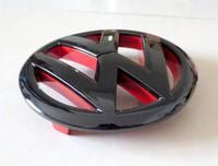1piece 135mm Volkswagen VW Front Grill Emblem Badge Logo Fit Golf 6 GTI R20 Polished Black red retail