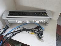 ZSPM -6 manual desktop socket with Multi standard sockets