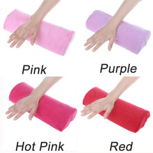 2014 SOFT Cotton Cloth Hand Holder Cushion Pillow Nail Arm Towel Rest Nail Art Manicure Makeup Cosmetic Tools(China (Mainland))