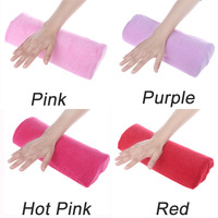 2014 SOFT Cotton Cloth Hand Holder Cushion Pillow Nail Arm Towel Rest Nail Art Manicure Makeup Cosmetic Tools