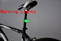 6 Pcs Silicone Bike Bicycle MTB lamp include the battery Front Rear Wheel LED Flash  Mountain Bike Warning Light Wholesale