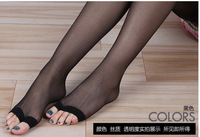 Silk stocking  Women Fish mouth socks Many Color Sexy Stocking Free Shipping