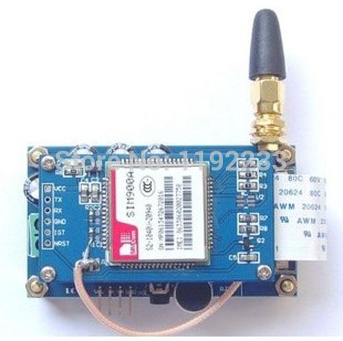 Электронные компоненты 5pcs/sim900a GSM/GPRS sim900a gsm gprs cellphone development board w audio port 3 led indicators deep blue