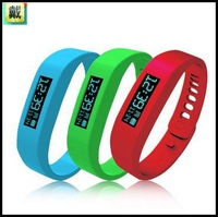 2014 New Arrival Bluetooth Smart Sports Bracelet Healthy Bracelet Silicone Wristband Calories Pedometer Sleep Monitoring