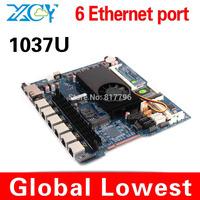 Hot sales!! C1037U mini itx with 6 lan port mainboard 6 rj45 port motherboard cheap wholesales price