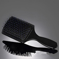 Health Comfortable Wide Tine Massage The Scalp Hair Brush ,tangle plastic hair brush for hair extension,hair style tools