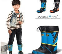 Fashion children warm rain boots Rain boots environmental water shoe rubber for rubber overshoes