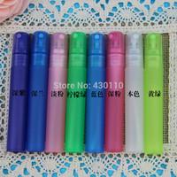 2014 New arrival 8 colors Candy color 8ml plastic mini perfume bottles 50pcs/lot