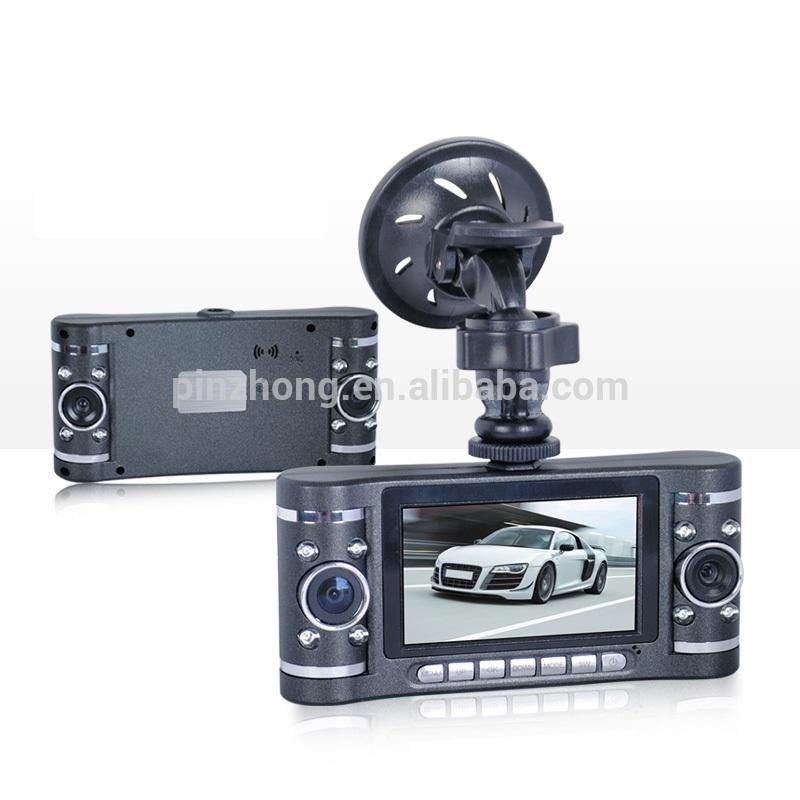 """720P GPS Sos G-Sensor Dual Lens Super Compress H.264 2.7"""" HDMI 5M Camera 120 Degree Lens Car Black Box Video Recorder DVR V20(China (Mainland))"""