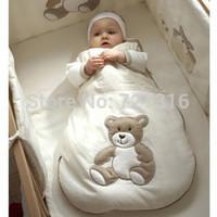 100% Cotton Spring Summer Autumn Newborn Baby Kid Sleeping Bag, Brand Child Animal Vest Sleepsacks, Free Shipping