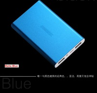 Portable Power Bank 6000mAh ,  Polymer cells External Battery Pack for Iphone  / SAMSUNG  / HTC  free shipping