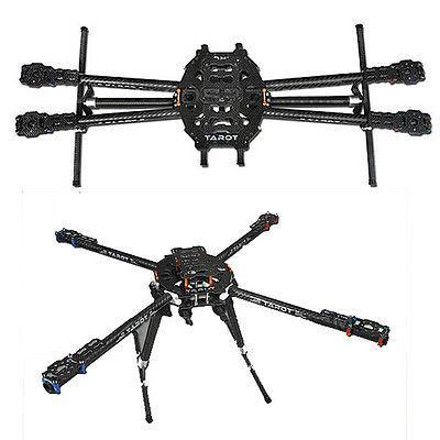 Brand New 1 set Tarot Iron Man 650 Foldable 3K Carbon Fiber Quad Copter Quadcopter Frame TL65B01 Free Shipping(Hong Kong)