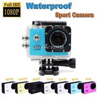 New Arrival 12MP Full HD 1080P Bicycle Helmet Sports DV Action Waterproof Car Camera SJ4000