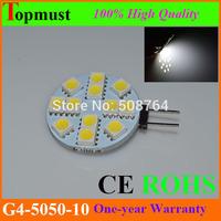 100Pcs/Lot 12LED Led Lamp G4 5050 Bulb Light 2.2W 240Lumen Lamp g4 smd led Bulb Lamp White/Warm White 12SMD 5050 DC12V