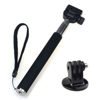 Scolour Extendable Handheld Monopod Tripod Mount Adapter for GoPro Hero 3/2/1 Camera Freeshipping& wholoesale