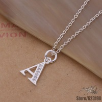 AN207 925 sterling silver Necklace 925 silver fashion jewelry pendant A /bbaajsha cnmaleta