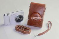 Wholesale camera case PU leather bag for Samsung Galaxy GC200 EK-GC200 GC100 GC110 GC120 camera bag gc200 imitation leather case