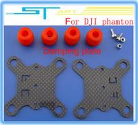 DJI phantom parts accessories big dji phantom 3k full carbon fiber shock absorption gopro cameras damping plate low shipping