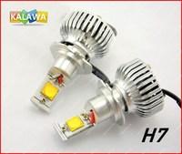 42W USA CREE H7 Lo-beam 6000LM 4th Generation LED Headlight Coversion Kit Bulb H11 9005 9006 FREESHIPPING GGG