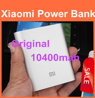 External Battery Pack original xiaomi power bank 10400mAh portable powerbank Charger for xiaomi hongmi iphone free ship 1pcs