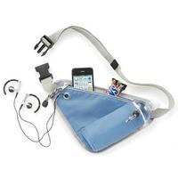 2014 Running Waist Pack Close-Fitting Portable Money Belt Waist Purse Cyclist Waist Bag Travel Bag Cyclist Storage Bag AB40E