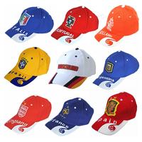 FREE SHIPPING Brazil World Cup hip-hop Cap Soccer Fans Souvenir Snapback Embroidery Baseball Caps Cotton Golf Dancing Hat