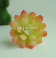 Free Shipping 6.5cm Silk Succulent Plant Pick DIY Decoration Flower Artificial Succulent