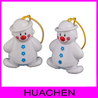 9163  Lovely Snowman Wireless Baby Cry Detector Monitor Watcher Alarm