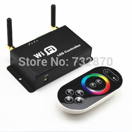Free shipping 3pcs intelligent mobile Iphone /Ipad with Android or IOS system RGB wi-fi controller(China (Mainland))