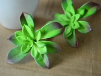 Free Shipping 9cm Silk Succulent Plant Pick DIY Decoration Flower Artificial Desert Flower