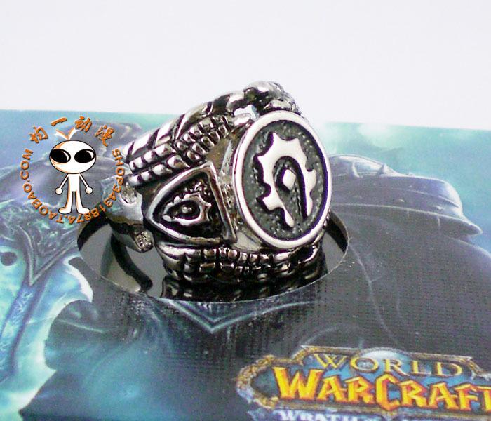 ... Ring of Warcraft périphérique produits pour la HORDE bagues Cool