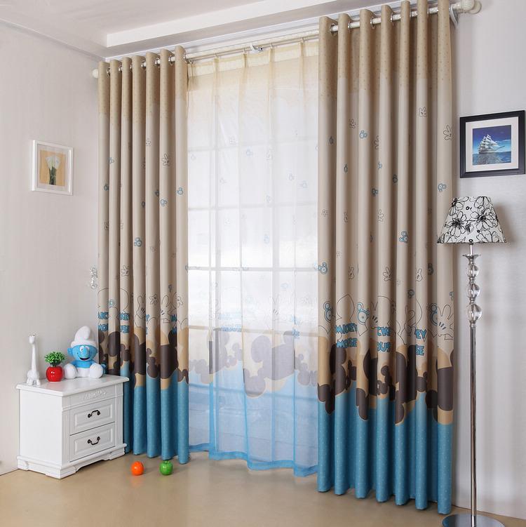 Online kopen wholesale mickey gordijnen uit china mickey gordijnen groothandel - Kamer gordijnen kind ...
