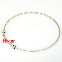 Hot!!! 18pcs Vnistar adjustale alex and ani expandable wire cuff bangles two tones for choice VSB028