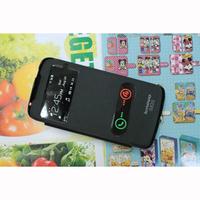 Original Lenovo S820 Case Newest Double Window Design Flip Leather Cell Phones Cases for Lenovo S820 Battery Housing Back Cover