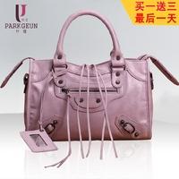 Women's bags women's handbag fashion vintage Small motorcycle bag shoulder bag handbag cross-body