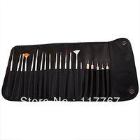 New Nail Art Painting Dotting Draw Pen Brushes Liners Wood Tool Hotsale ay600273