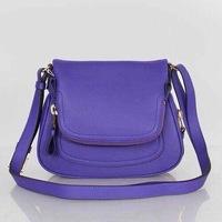 Calfskin Leather T-Ford Women shoulder bag